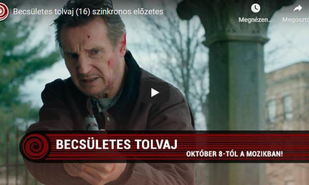 Becsületes tolvaj (premier 2020.10.08.)