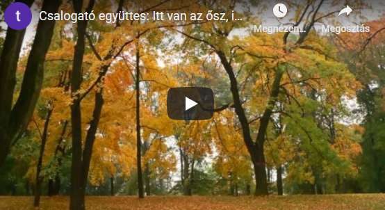 Petőfi Sándor: Itt van az ősz, itt van újra