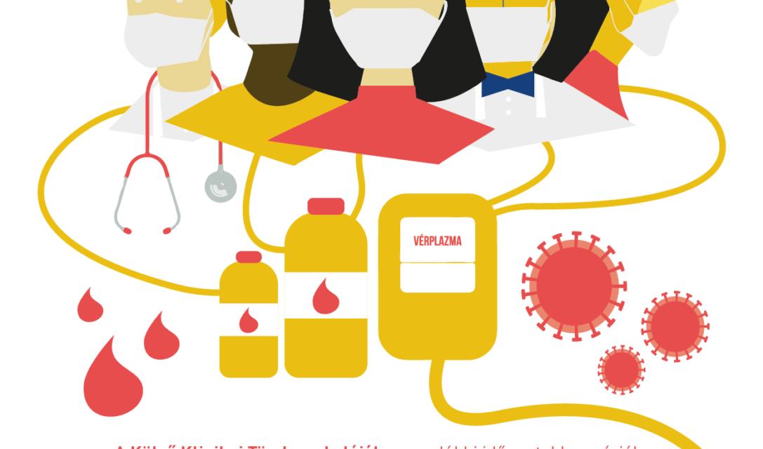 Vérplazmaadásra várják a koronavírus-fertőzésen átesett Semmelweis polgárokat