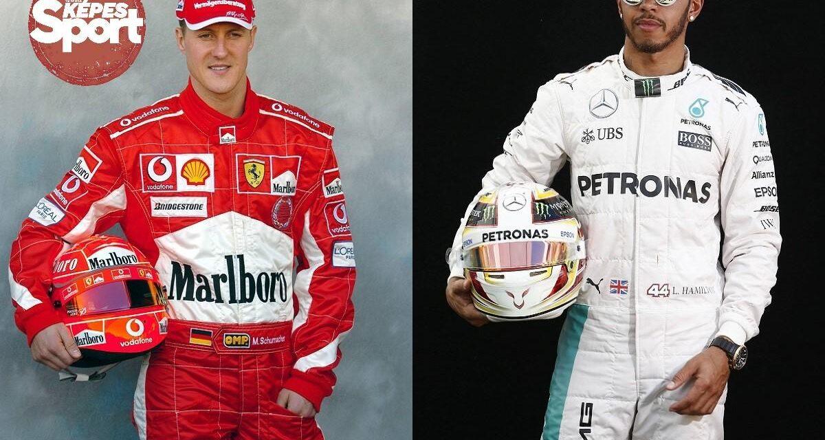 Schumacher vs. Hamilton: Két uralkodó, egy trón