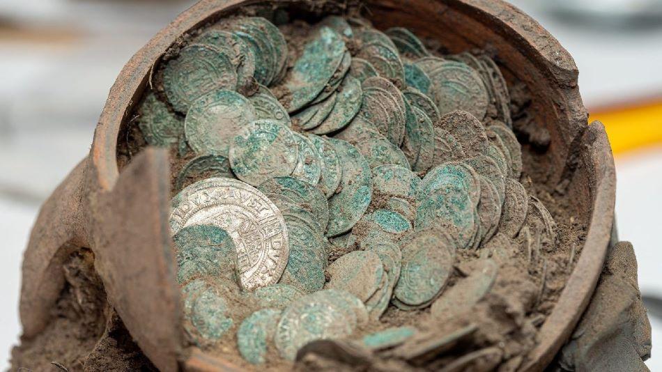 Török hódoltság-korabeli érméket találtak Simontornyán