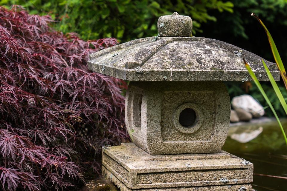 Japánkert épül a gyulai könyvtár udvarán