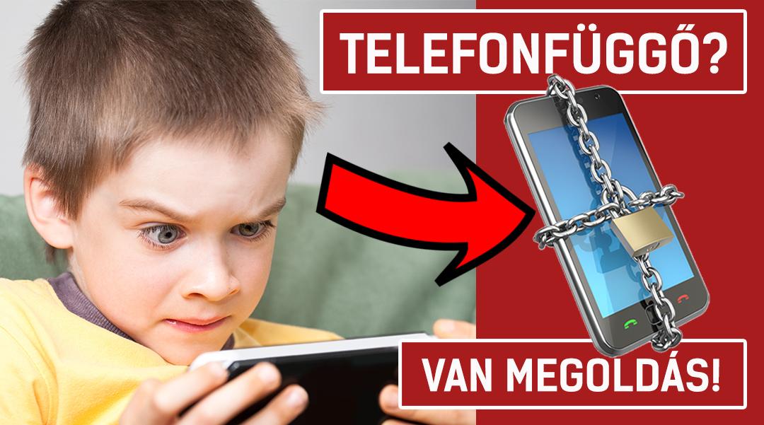 Telefonfüggő a gyereked? – Van megoldás! – VIDEÓ (5 perc)