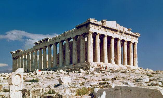 2300 éves Hermész-fejszobrot találtak Athén belvárosában