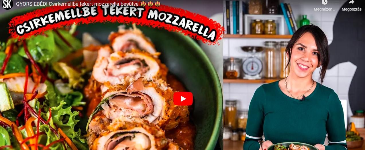 Ha valami igazán gyors és nagyon finom vacsira vagy ebédre vágytok: Csirkemellbe tekert mozzarella