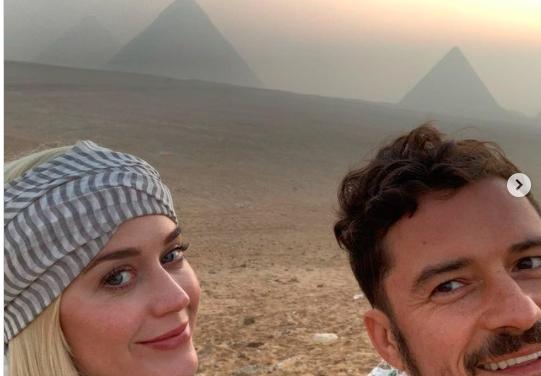 Orlando Bloom eddig nem látott képeket osztott meg Katy Perry-ről és magáról