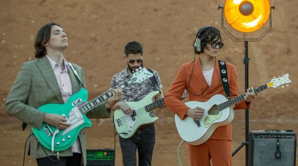 Marsbéli tájon forgatott live sessiont a Fran Palermo