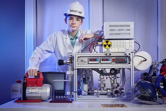 12 évesen összebarkácsolt egy fúziós reaktort