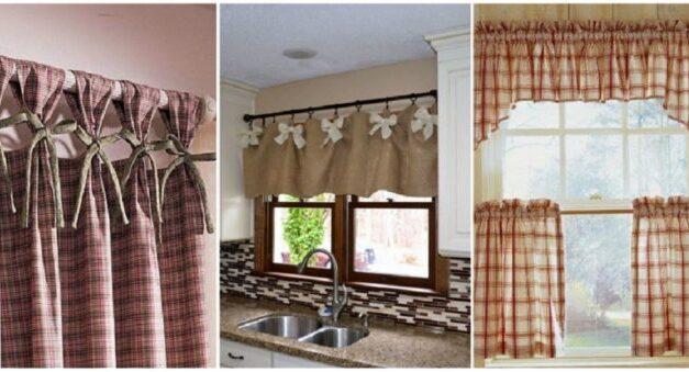 Praktikus ötletek, hogy a függönyöd a konyhád dísze legyen!